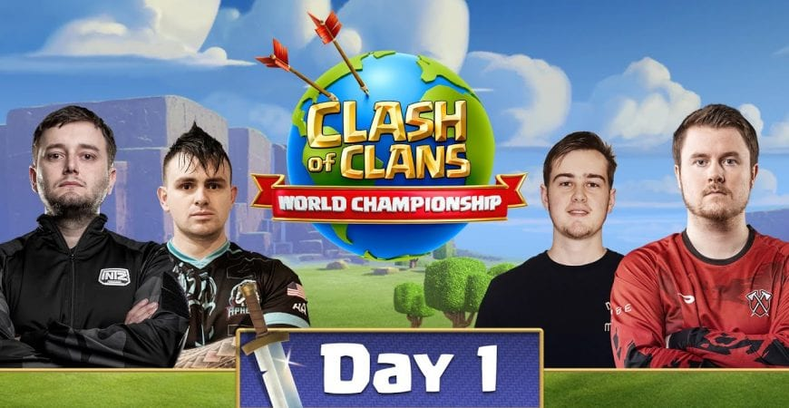 World Championship #1 Qualifier Day 1 – Clash Of Clans by Clash of Clans