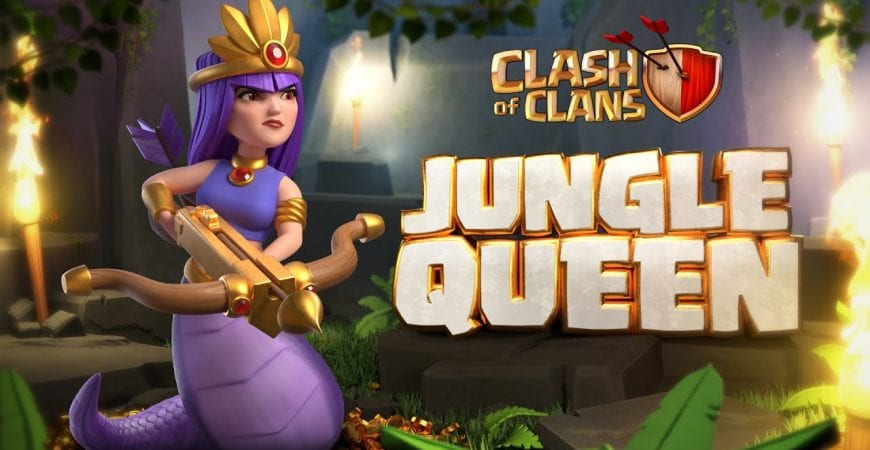 Jungle Queen (Clash of Clans June Season Challenges) by Clash of Clans