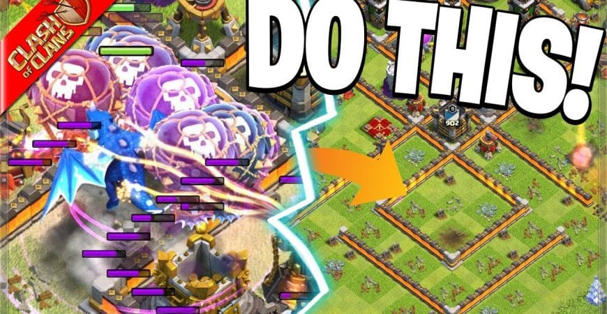 Teaching YOU my FAVORITE Clash of Clans Attack! by Clash Bashing!!
