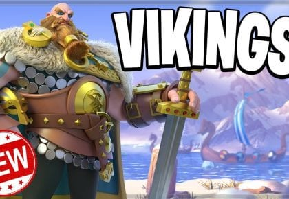 VIKINGS ARE COMING! (Rise of Kingdoms) by Clash Bashing!!