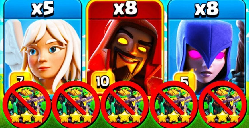 NEW Witch Attack DESTROYS TH 14 ! Best New TH14 War Attacks for 3 Stars in Clash of Clans by Clash With Cory