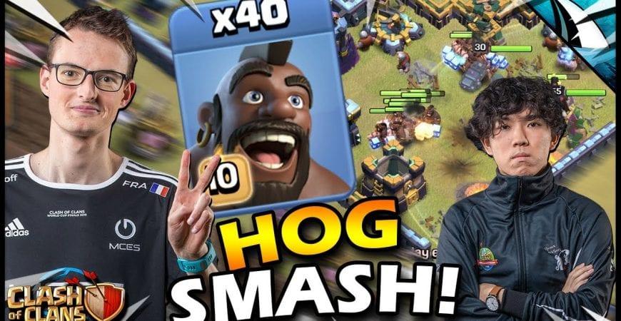 MCES takes 40 HOGS vs KLAUS!! The HOG SMASH!! by CarbonFin Gaming