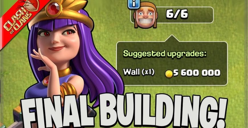 MY TOWN HALL 14 HAS MAX BUILDINGS! (Clash Of Clans) by Clash Bashing!!