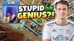 STUPID or GENIUS?! MCES takes HUGE RISK with CRAZY WITCH ATTACK! Clash of Clans by Clash with Eric – OneHive
