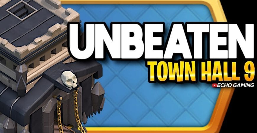 This Town Hall 9 Base Couldnt be Beaten in War by ECHO Gaming