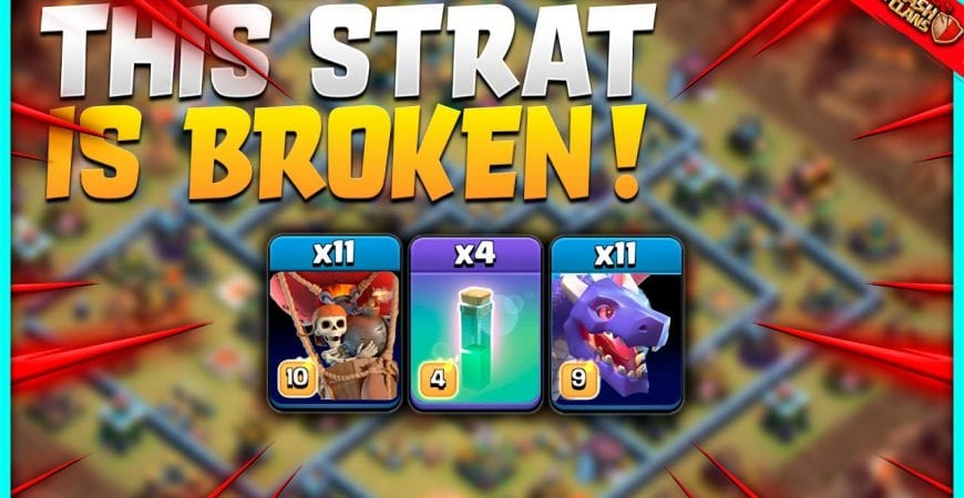 Th14 Attack Strategy | Drag lloons are INSANE! | Clash of Clans by KagZ Gaming