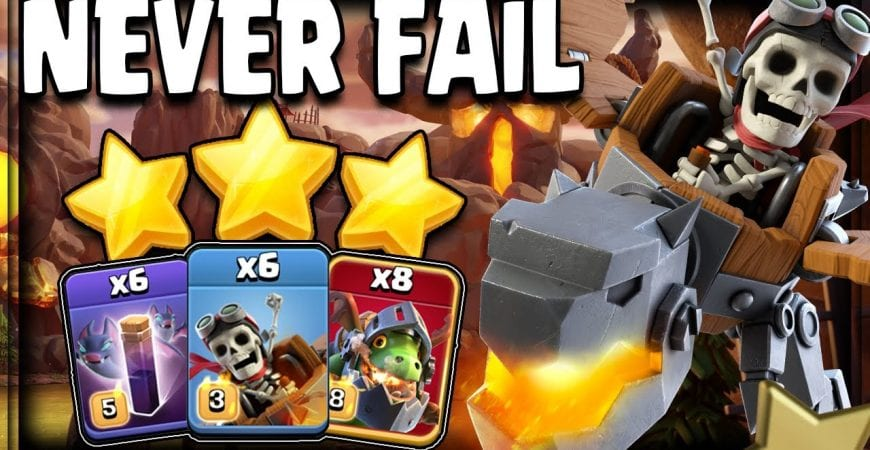 NEW TH14 ATTACK STRATEGY! EASY 3 STAR! | BEST town hall 14 attack strategy by Deja Vu Gaming
