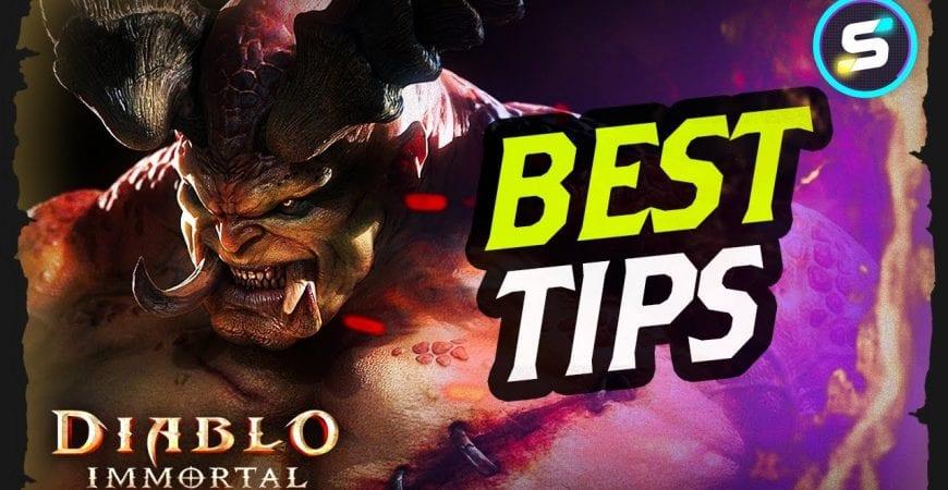 Best Beginner Tips in Diablo Immortal by Scrappy Academy