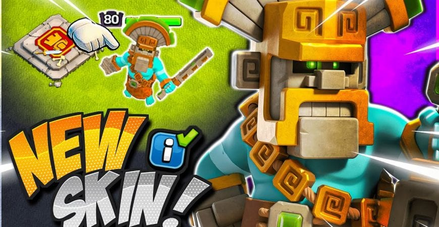 NEW Jungle King Skin Coming SOON! [Clash of Clans] #Shorts by CorruptYT