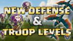 Update Sneak Peek – New Troop & Building Levels