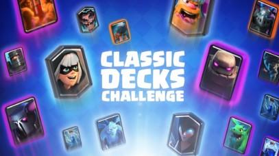 Classic Decks Challenge – List of Decks by Clash Royale