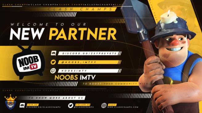 Noobs iMTV & Clash Champs Partnership!