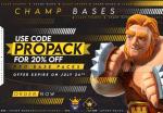 20% Off ALL Pro Base Packs!