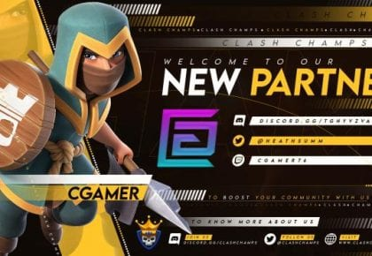 CGamer & Clash Champs Partnership!