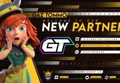 Gaz Tommo & Clash Champs Partnership