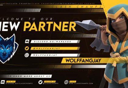 WolffangJay & Clash Champs Partnership!