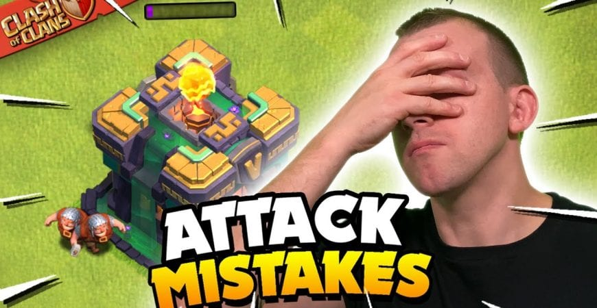 5 Biggest Mistakes for Attacking in Clash of Clans! by Judo Sloth Gaming