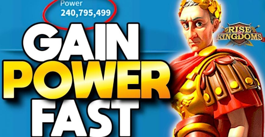 Rise of Kingdoms Gain Power Fast as a Free to Play Beginner by ECHO Gaming