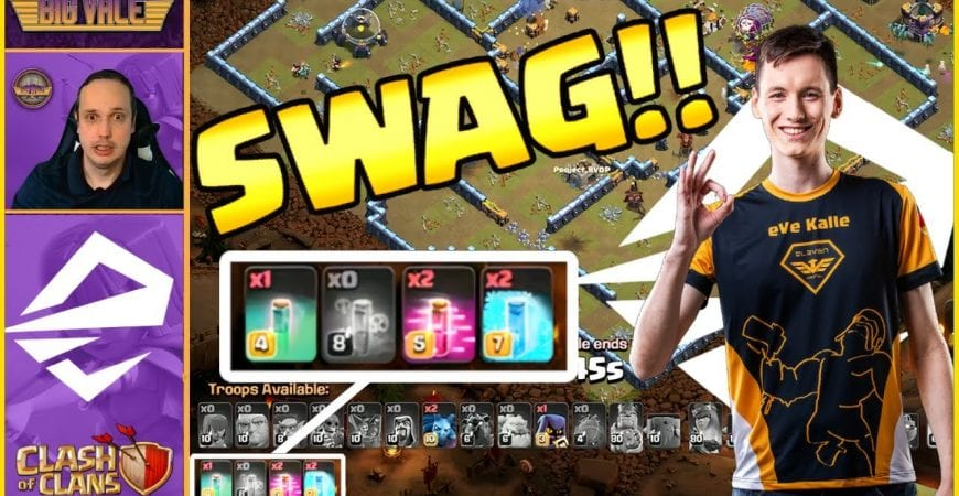 This Clash of Clans PRO from Team Elevate is The MASTER of SWAG!! by Big Vale