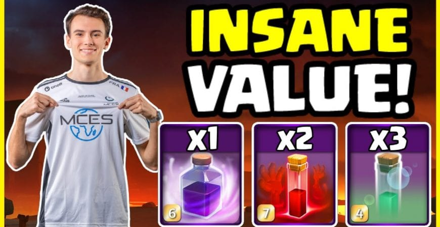 Clash of Clans PRO CRUSHES With SKELLY DONUT!! by Big Vale