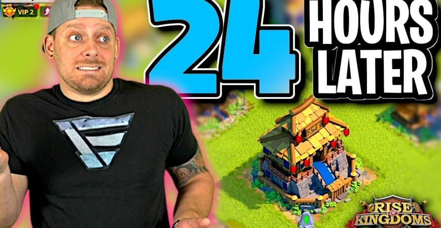 NEW Rise of Kingdoms Jumper – 24 Hours Later by ECHO Gaming