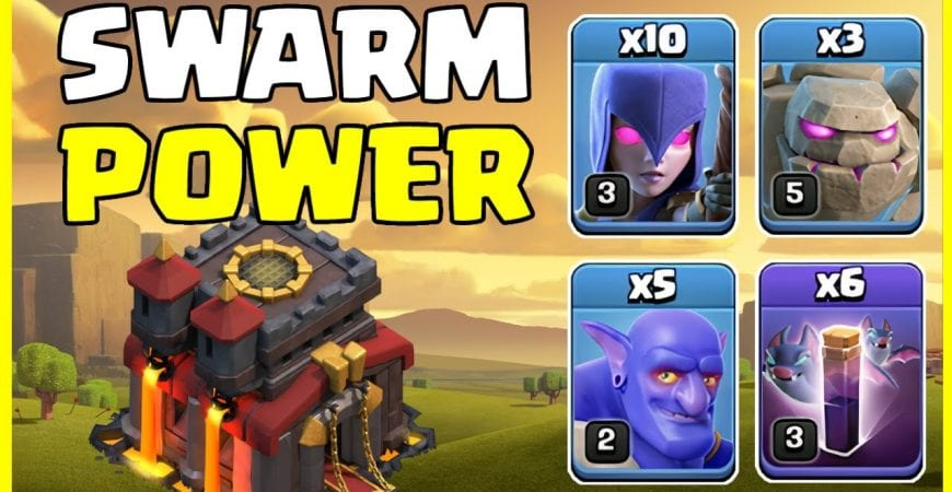 The BEST TH10 Attack Strategy To SMASH EVERY BASE in 2021!! by Big Vale