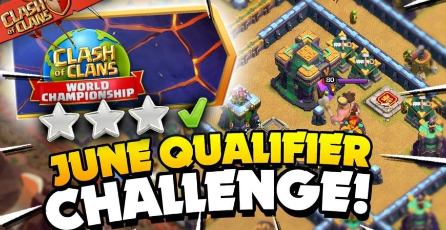 3 Star the Clash Worlds June Qualifier Challenge (Clash of Clans) by Judo Sloth Gaming
