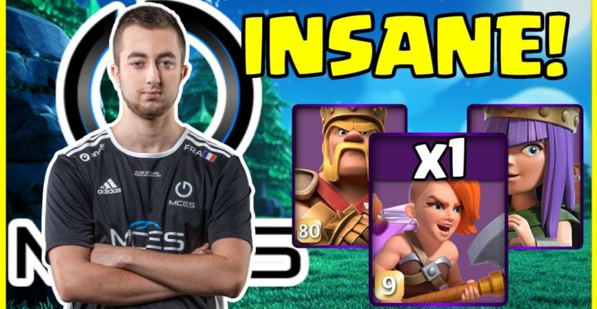 How To SUI Heroes at TH14 In Clash of Clans Using One SUPER VALK!! by Big Vale