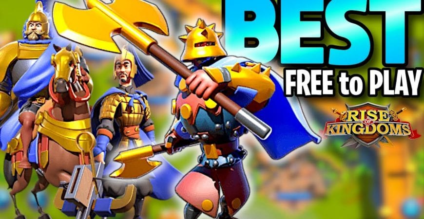Rise of Kingdoms Best Unit for Free to Play Players by ECHO Gaming