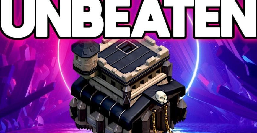 The BEST TH9 Anti Air War Base in Clash of Clans by ECHO Gaming