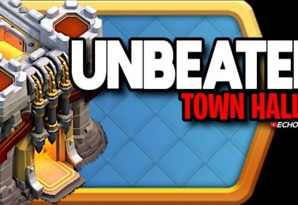 This Town Hall 11 Base Couldn't be Beaten in War by ECHO Gaming
