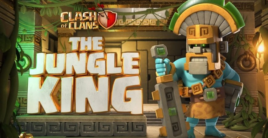 Awaken The Jungle King! (Clash of Clans Season Challenges) by Clash of Clans