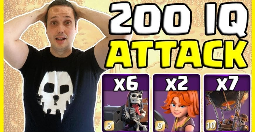 VALKS in an Air Attack CRUSH in This Clash of Clans Townhall 14 Friendly War!! by Big Vale