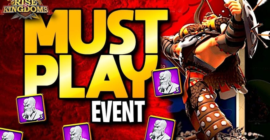 Rise of Kingdoms MUST PLAY Event for All Free to Play Players by ECHO Gaming