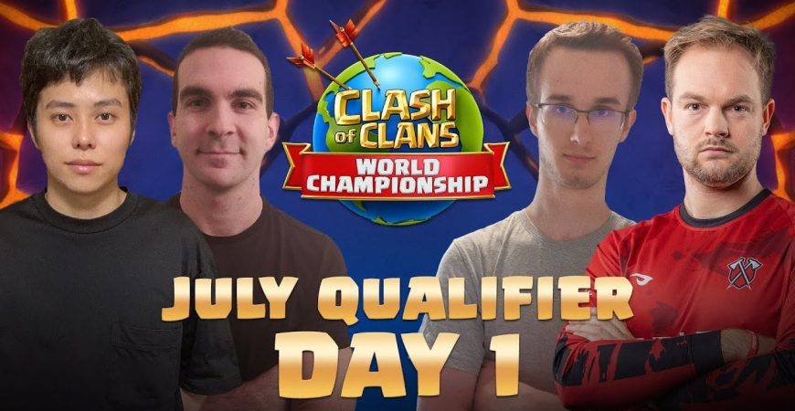 Clash Worlds July Qualifier Day 1 | Clash of Clans by Clash of Clans