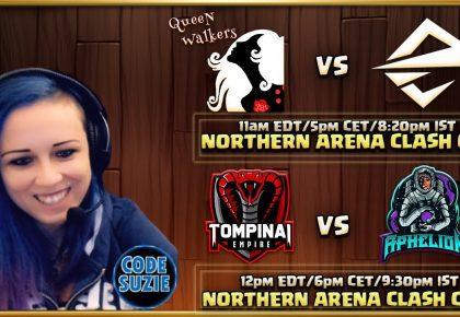 Queen Walkers vs Team Elevate (NACC) di Suzie Gaming