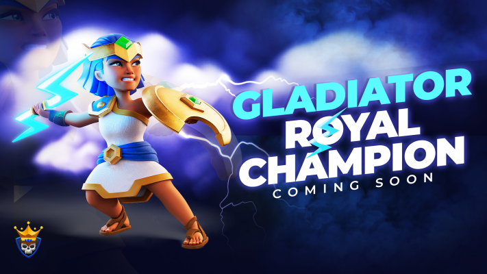 Gladiator Royal Champion Skin Revealed – September Hero Skin!