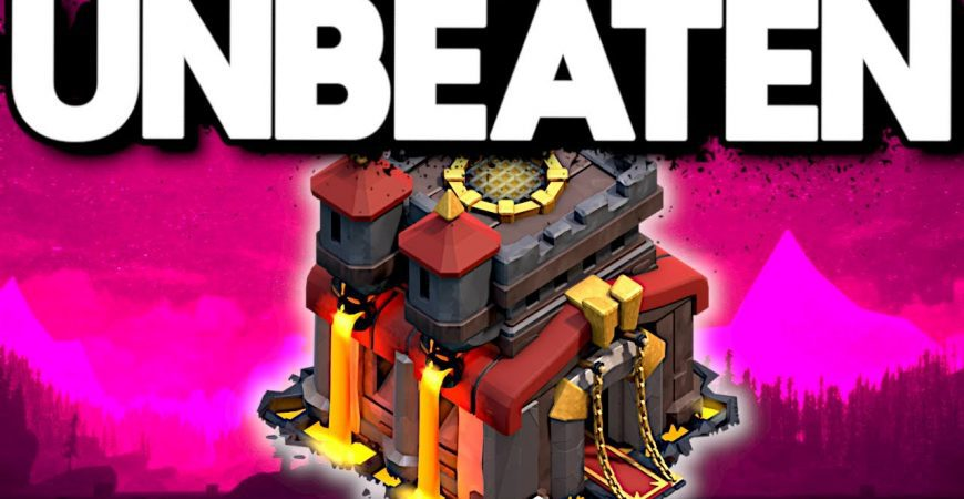 This TH10 Champ Base could NOT be Beaten in War – Clash of Clans by ECHO Gaming
