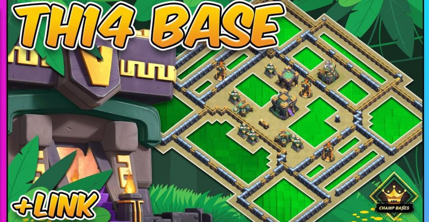 NEW BEST TH14 War Base 2021 | Defended in Champs 2 | Copy Link by Gaz Tommo