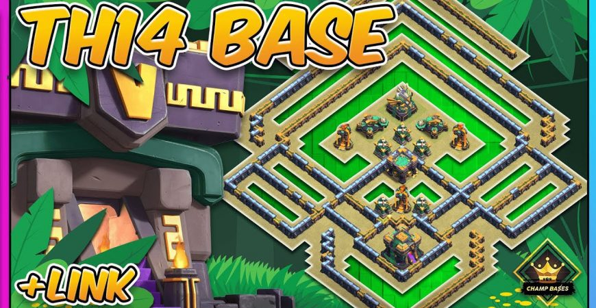 DO NOT SPAM the TH! TH14 Legend League Base | Copy Link by Gaz Tommo