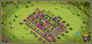Super base not easy to take 3 stars in this base