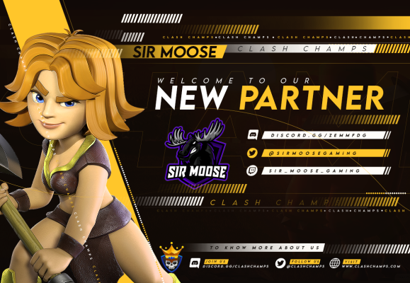 Sir Moose & Clash Champs Partnership