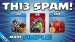 SUPER EASY TOWN HALL 13 ATTACK! TH13 Attack Strategy | Clash of Clans by Sir Moose Gaming