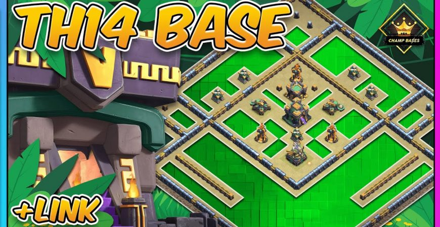 NEW OP TH14 War Base | TH14 Legend Base | Clash of Clans by Gaz Tommo