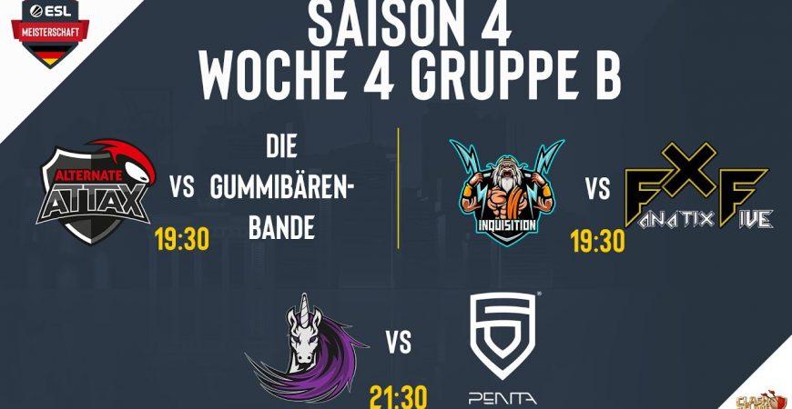 Platz 1 vs Platz 2 – ATN vs GBB | INQ vs FXF | DU vs Penta | ESLM S4 | Clash of Clans deutsch by Noobs iMTV – Clash of Clans