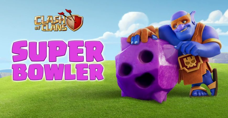 SUPER BOWLER Enters The Clash Bowling Lane! (Clash of Clans Official) by Clash of Clans