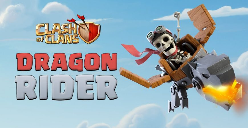 New Troop: Dragon Rider! (Clash of Clans Official) by Clash of Clans