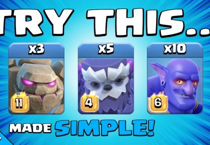NEW UPDATE = GROUND ATTACKS ARE BACK!!! BEST TH14 Attack Strategy | Clash of Clans by Sir Moose Gaming