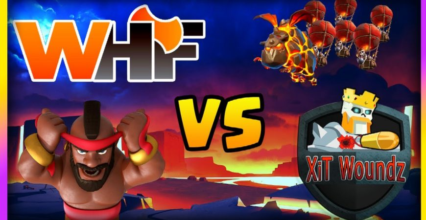 WHF vs Xit Woundz in the Family Feud TH14 Tournament!!! Clash of Clans Esports by Big Vale