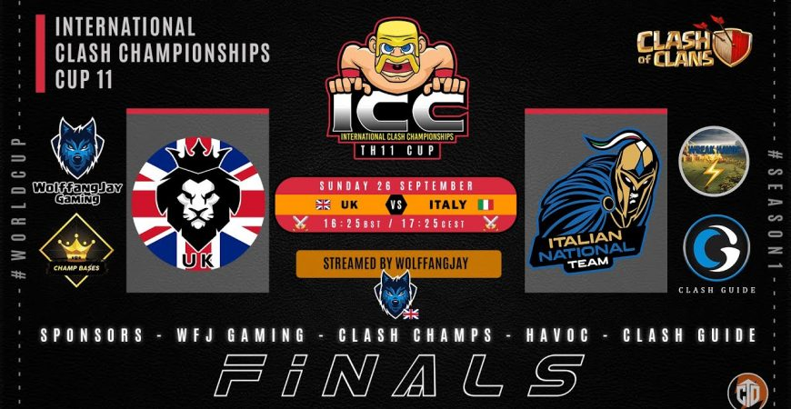 ⚔️ 🇬🇧 UK vs Italy 🇮🇹 ⚔️ | Finals | $150 | 🏆 ICC Cup 11 🏆 | ❗icc 💯📣 by WolffangJay